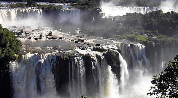 Iguazu Falls, Brazil-Argentina. Author and Copyright Marco Ramerini.