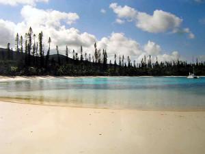 Kanumera, Isle of Pines, New Caledonia. Author and Copyright Marco Ramerini