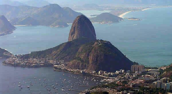 Sugarloaf (Pão de Açúcar), Rio de Janeiro, Brazil. Author and copyright Marco Ramerini