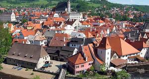 Český Krumlov, Bohemia, Czech Republic. Author Rubel. Licenza Creative Commons Attribuzione-Condividi allo stesso modo