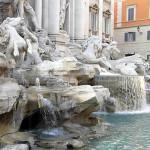 Trevi Fountain, Rome, Italy. Author and Copyright Marco Ramerini..