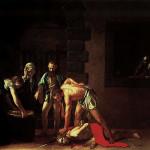 Stětí svatého Jana Křtitele od Caravaggia, třezalka Co-Cathedral, Valletta, Malta