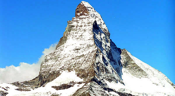 Matterhorn (Cervino), Switzerland. Author and Copyright Marco Ramerini