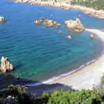 Cala Tinnari, Sardinie, Itálie. Author and Copyright Marco Ramerini