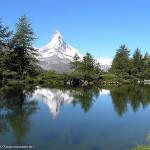 Grindjisee, Zermatt, Switzerland-Italy. Author Marco Ramerini