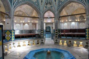 Sultan Amir Ahmad Bathhouse, Kashan, Iran. Autore e Copyright Marco Ramerini.