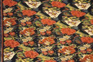 Detail of a carpet, Carpet Museum of Iran, Tehran, Iran. Author and Copyright Marco Ramerini