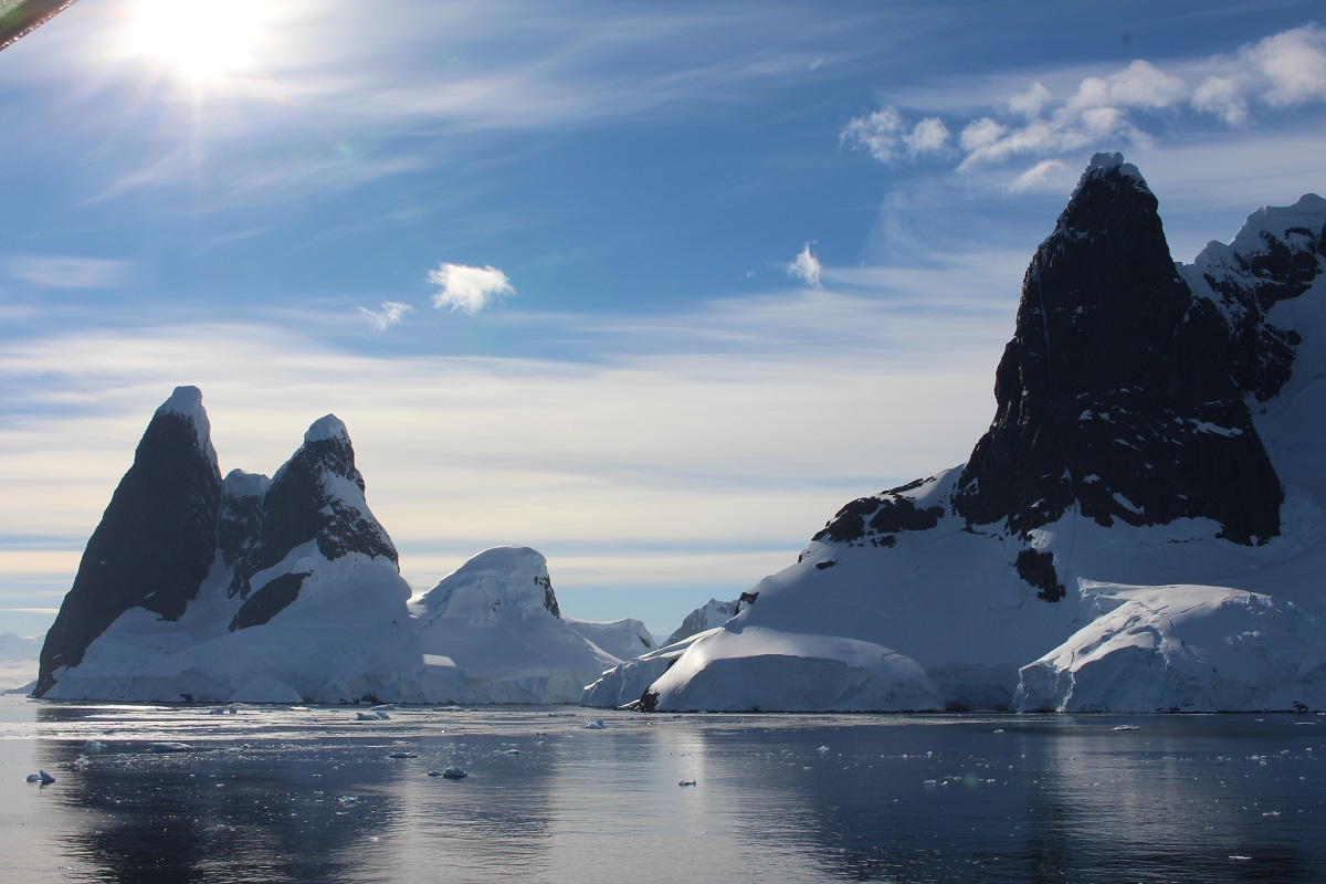 Lemaire Channel, Antarctica. Author and Copyright Marco Ramerini.