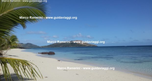 Blue Lagoon Beach, Nacula Island, Yasawa Islands, Fiji. Author and Copyright Marco Ramerini.