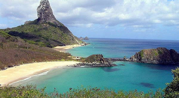 Morro do Pico, Fernando de Noronha, Brazil. Author and Copyright Marco Ramerini