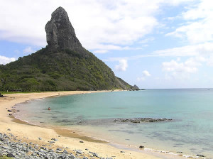 Praia da Conceição (Italcable), Morro do Pico, Fernando de Noronha, Brazil. Author and Copyright Marco Ramerini