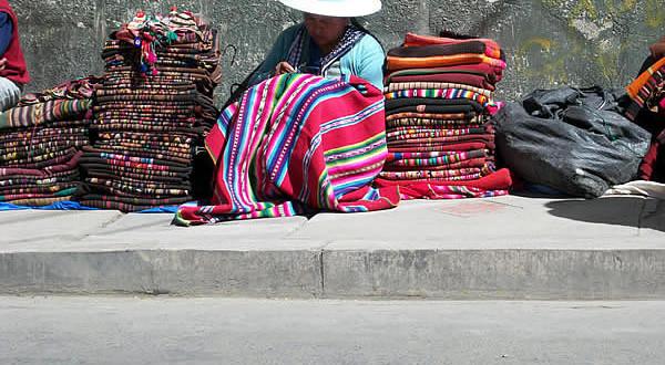 Bolivian costume. Author and Copyright Nello and Nadia Lubrina