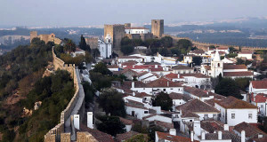 Óbidos, Portugal. Author Waugsberg. Licensed under the Creative Commons Attribution-Share Alike
