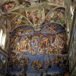 Sistine Chapel, Vatican City, Rome, Italy. Author and Copyright Marco Ramerini