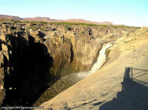 Augrabies Falls, South Africa. Author and Copyright Marco Ramerini