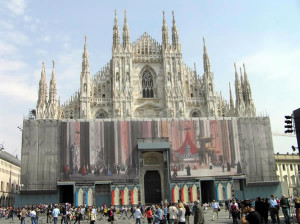 大教堂,米兰,伦巴第,意大利. Author Marco Ramerini