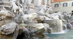 Trevi Fountain, Rome, Italy. Author and Copyright Marco Ramerini..