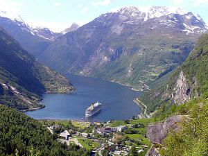 Geirangerfjord, Norway. Author and Copyright Marco Ramerini