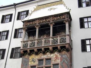 The Golden Roof, Innsbruck, Tyrol, Austria. Author and Copyright Liliana Ramerini