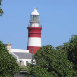 The lighthouse at Cape Agulhas, South Africa. Author and Copyright Marco Ramerini