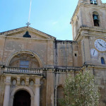 The numerous churches are among the tourist attractions of Valletta, Malta. Author Liliana Ramerini.
