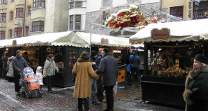 Christmas Markets in Innsbruck, Austria. Author and Copyright Liliana Ramerini