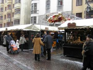 Christmas Markets in Innsbruck, Austria. Author and Copyright Liliana Ramerini