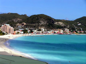 Philipsburg, Great Bay, Saint Martin / Sint Maarten. Author and Copyright Marco Ramerini