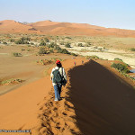 Sossusvlei, Namib Desert, Namib-Naukluft, Namibia. Author and Copyright Marco Ramerini..