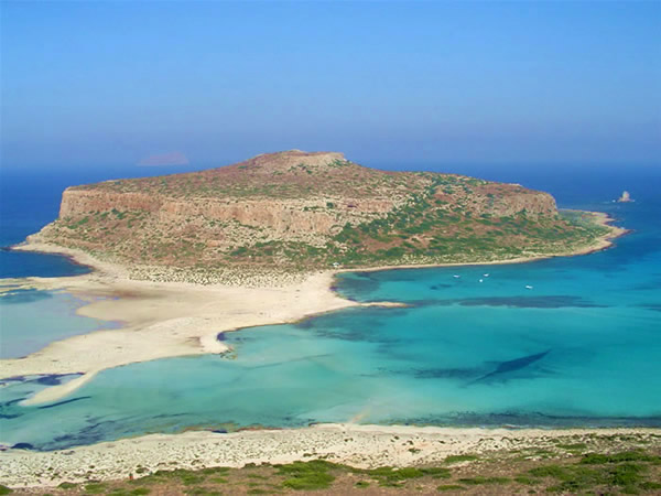 The lagoon of Balos, Crete, Greece. Author and Copyright Luca di Lalla