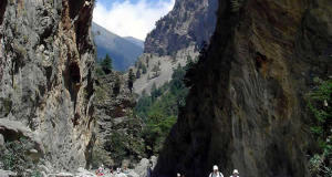 The Samaria Gorge, Crete, Greece. Author and Copyright Luca di Lalla