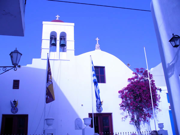 Mykonos, Cyclades, Greece. Author and Copyright Roberto Ramerini.