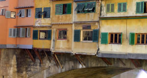 Ponte Vecchio, Florencie, Itálie. Author and Copyright Marco Ramerini