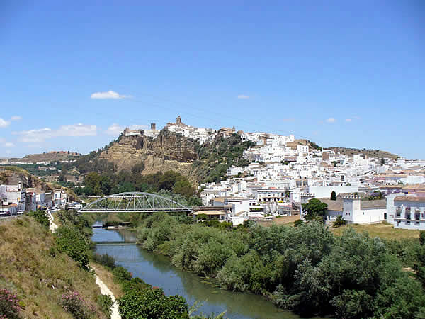 Arcos de la Frontera, Spain. Author and Copyright Liliana Ramerini