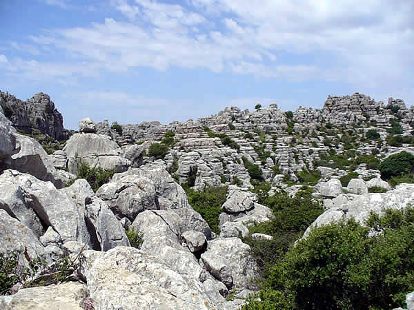 El Torcal, Antequera, Andalusia, Spain. Author and Copyright Liliana Ramerini