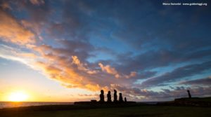 Ahu Tahai, Easter Island, Chile. Author and Copyright Marco Ramerini