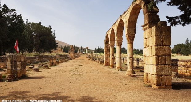 Anjar, Beqa Valley, Lebanon. Author and Copyright Marco Ramerini