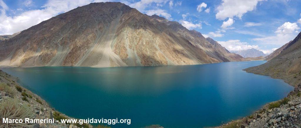 See Satpara nahe Skardu, Baltistan, Pakistan. Autor und Copyright Marco Ramerini
