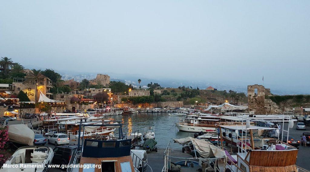The marina of Biblo, Lebanon. Author and Copyright Marco Ramerini
