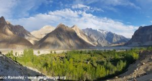 Passu Cones, Hunza Valley, Pakistan. Author and Copyright Marco Ramerini