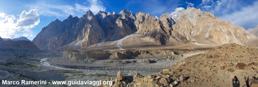 Passu Cones, Hunza Valley, Pakistan. Author and Copyright Marco Ramerini.