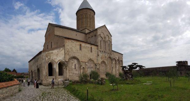 Alaverdi Cathedral, Georgia. Author and Copyright Marco Ramerini