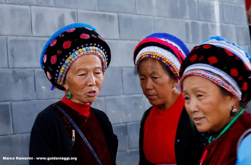 Women, Zhoucheng, Yunnan, China. Author and Copyright Marco Ramerini ...