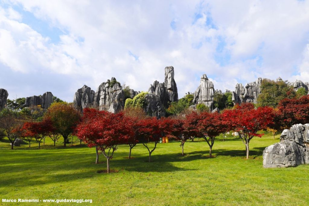 Stone Forest, Shilin, Yunnan, China. Author and Copyright Marco Ramerini