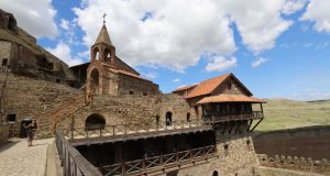 Davit Gareja monastery, Georgia. Author and Copyright Marco Ramerini.