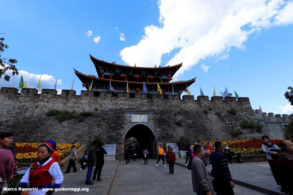 Walls of Dali, China. Author and Copyright Marco Ramerini.