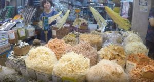 Singi (Shingi) Market, Incheon, South Korea. Author and Copyright Marco Ramerini., ..