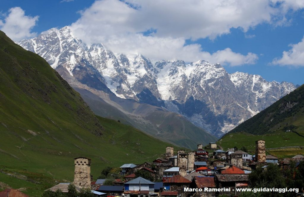 Ushguli, Svaneti, Georgia. Author and Copyright Marco Ramerini