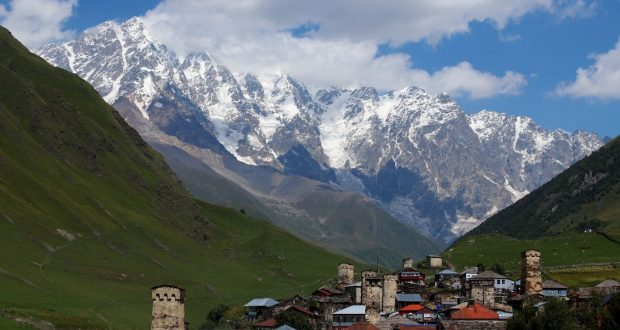 Ushguli, Svaneti, Georgia. Author and Copyright Marco Ramerini