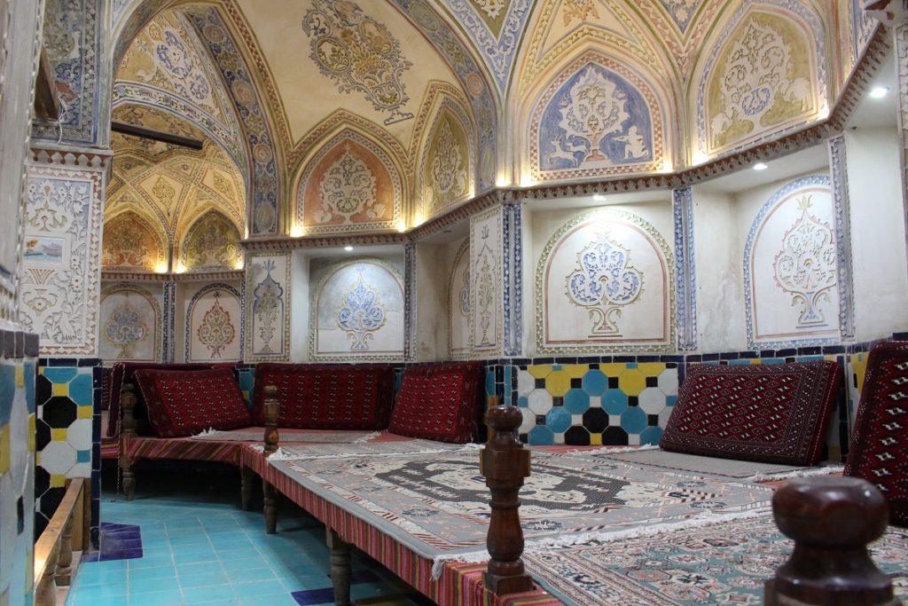 Sultan Amir Ahmad Bathhouse, Kashan, Iran. Author and Copyright Marco Ramerini